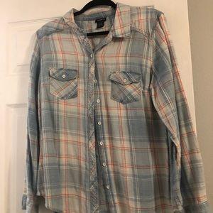 Plaid shirt from torrid